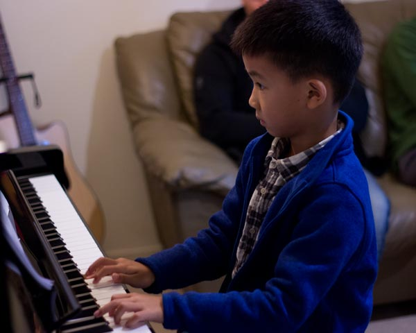 piano student concert north shore